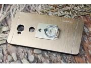 Фирменная задняя панель-крышка-накладка под металл для Huawei Ascend Mate 7/7 Premium золотая..