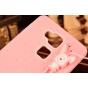 Фирменная необычная уникальная полимерная мягкая задняя панель-чехол-накладка для  Huawei Ascend Mate 7/7 Prem..