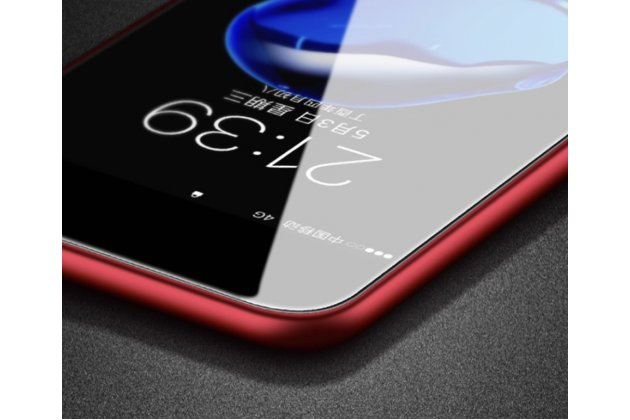 """Фирменная роскошная задняя панель-крышка на силикновой основе с узором """"Красные розы""""  для Huawei Ascend Mate 7 королевский красный"""