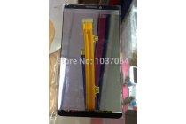 Фирменный LCD-ЖК-сенсорный дисплей-экран-стекло с тачскрином на телефон Huawei Ascend Mate 7/7 Premium черный + гарантия