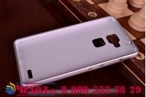 Фирменная металлическая задняя панель-крышка-накладка из тончайшего облегченного авиационного алюминия для Huawei Ascend Mate 7/7 Premium серебристая
