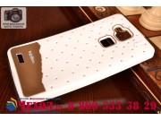 Фирменная необычная уникальная полимерная мягкая задняя панель-чехол-накладка для Huawei Ascend Mate 7/7 Premi..