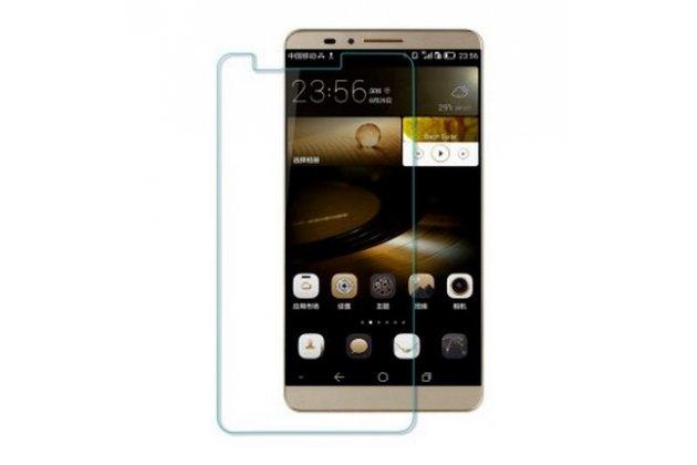 Фирменная оригинальная защитная пленка для телефона Huawei Ascend Mate 7 глянцевая
