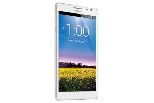 Фирменная защитная пленка для телефона Huawei Ascend Mate MT1-U06 глянцевая