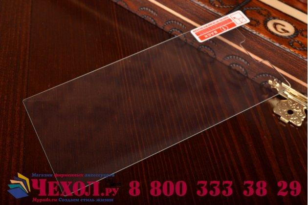 Фирменное защитное закалённое противоударное стекло премиум-класса из качественного японского материала с олеофобным покрытием для Huawei Ascend P6/ P6S (P6-U06)
