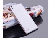 Фирменная ультра-тонкая полимерная из мягкого качественного силикона задняя панель-чехол-накладка для Huawei A..