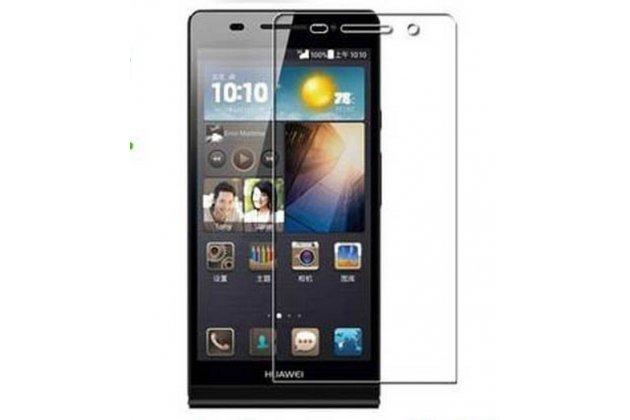 Фирменная оригинальная защитная пленка для телефона Huawei Ascend P6/ P6S глянцевая