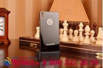 Фирменная металлическая задняя панель-крышка-накладка из тончайшего облегченного авиационного алюминия для Huawei Ascend P6/P6S черная