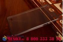 Фирменная ультра-тонкая полимерная из мягкого качественного силикона задняя панель-чехол-накладка для Huawei Ascend P6/ P6S черная