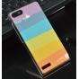 Фирменная необычная из легчайшего и тончайшего пластика задняя панель-чехол-накладка для Huawei Ascend P7 Mini..
