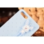 Фирменная необычная уникальная полимерная мягкая задняя панель-чехол-накладка для Huawei Ascend P7 Mini