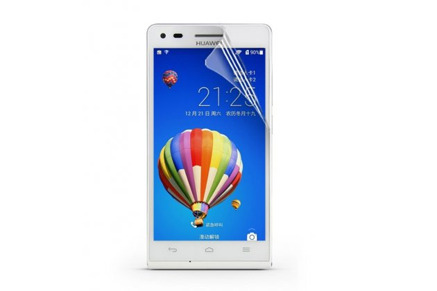 Фирменная оригинальная защитная пленка для телефона Huawei Ascend P7 Mini лянцевая