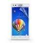 Фирменная оригинальная защитная пленка для телефона Huawei Ascend P7 Mini лянцевая..