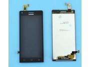 Фирменный LCD-ЖК-сенсорный дисплей-экран-стекло с тачскрином на телефон Huawei Ascend P7 Mini черный + гаранти..