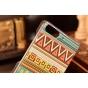 Фирменная роскошная задняя панель-чехол-накладка с безумно красивым расписным эклектичным узором на Huawei Asc..