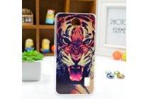 """Фирменная необычная из легчайшего и тончайшего пластика задняя панель-чехол-накладка для Huawei Ascend Y336 / Y3 /Y3C /Y3-U03 4.0""""  """"тематика Тигр"""""""