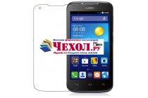 Фирменная оригинальная защитная пленка для телефона Huawei Ascend Y520 глянцевая