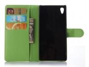 Фирменный чехол-книжка из качественной импортной кожи с мульти-подставкой застёжкой и визитницей для Хюавей Ас..
