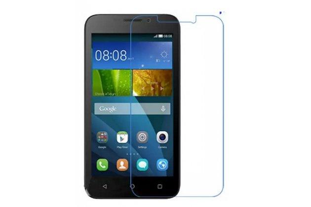 Фирменная оригинальная защитная пленка для телефона  Huawei Ascend Y541/Y5C/Honor Bee глянцевая
