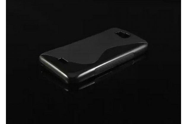 Фирменная ультра-тонкая полимерная из мягкого качественного силикона задняя панель-чехол-накладка для Huawei Ascend Y541/Y5C/Honor Bee черная