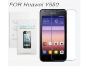 Фирменная оригинальная защитная пленка для телефона Huawei Ascend Y550 глянцевая..