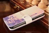 """Фирменный уникальный необычный чехол-подставка для Huawei Ascend Y625 / Y625-U32 5.0""""  """"тематика Париж"""""""