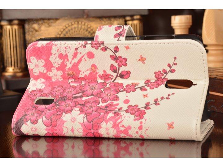Фирменный уникальный необычный чехол-книжка с визитницей кармашком для Huawei Ascend Y625 / Y625-U32 5.0