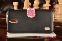 """Фирменный уникальный необычный чехол-книжка с визитницей кармашком для Huawei Ascend Y625 / Y625-U32 5.0"""" """"тематика цветок вишни"""""""