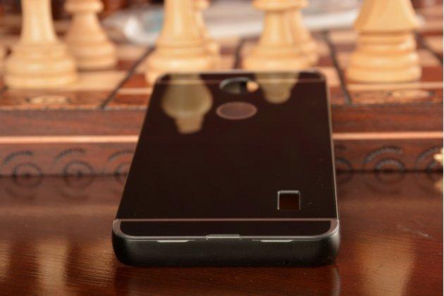 """Фирменная металлическая задняя панель-крышка-накладка из тончайшего облегченного авиационного алюминия для  Huawei Ascend Y635/ Y635-CL00/Y635-TL00/ Y635-L21 5.0""""  черная"""
