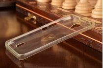 """Фирменная ультра-тонкая полимерная из мягкого качественного силикона задняя панель-чехол-накладка для  Huawei Ascend Y635/ Y635-CL00/Y635-TL00/ Y635-L21 5.0"""" белая"""