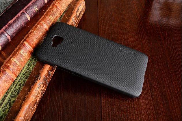 """Фирменная задняя панель-крышка-накладка из тончайшего и прочного пластика для Huawei Enjoy 5 (TIT-AL00)/Y6 Pro/Honor 4C Pro (TIT-L01) 5.0"""" черная"""