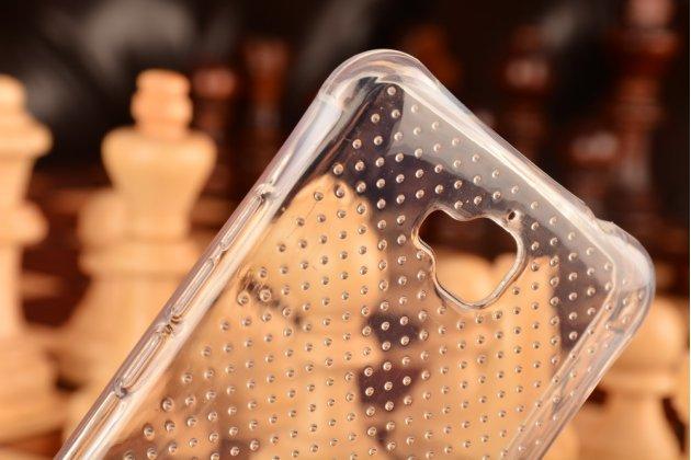 """Фирменная ультра-тонкая полимерная из мягкого качественного силикона задняя панель-чехол-накладка для Huawei Enjoy 5 (TIT-AL00)/Y6 Pro/Honor 4C Pro (TIT-L01) 5.0"""" прозрачная"""