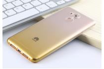 Фирменная ультра-тонкая полимерная задняя панель-чехол-накладка из силикона для Huawei Honor 6C/Huawei Enjoy 6S / Nova Smart 5.0 прозрачная с эффектом песка