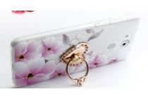 Фирменная уникальная задняя панель-крышка-накладка из тончайшего силикона для Huawei Enjoy 6S / Nova Smart 5.0/Huawei Honor 6C с объёмным 3D рисунком тематика Орхидея