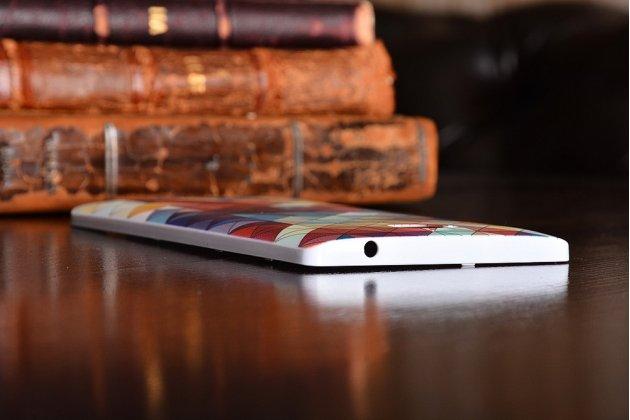 Родная оригинальная задняя крышка-панель которая шла в комплекте для Huawei Honor 3C с рисунком мозаики
