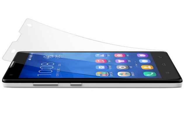 Фирменная оригинальная защитная пленка для телефона Huawei Honor 3C матовая