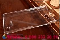 Фирменная ультра-тонкая пластиковая задняя панель-чехол-накладка для Huawei Honor 3C прозрачная