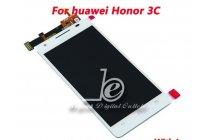 Фирменный LCD-ЖК-сенсорный дисплей-экран-стекло с тачскрином на телефон Huawei Honor 3C белый + гарантия