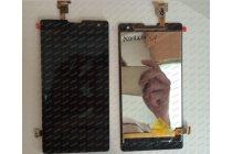 Фирменный LCD-ЖК-сенсорный дисплей-экран-стекло с тачскрином на телефон Huawei Honor 3C черный + гарантия