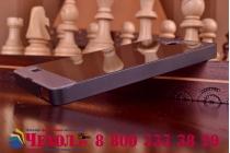 Фирменная металлическая задняя панель-крышка-накладка из тончайшего облегченного авиационного алюминия для Huawei Honor 3C черная