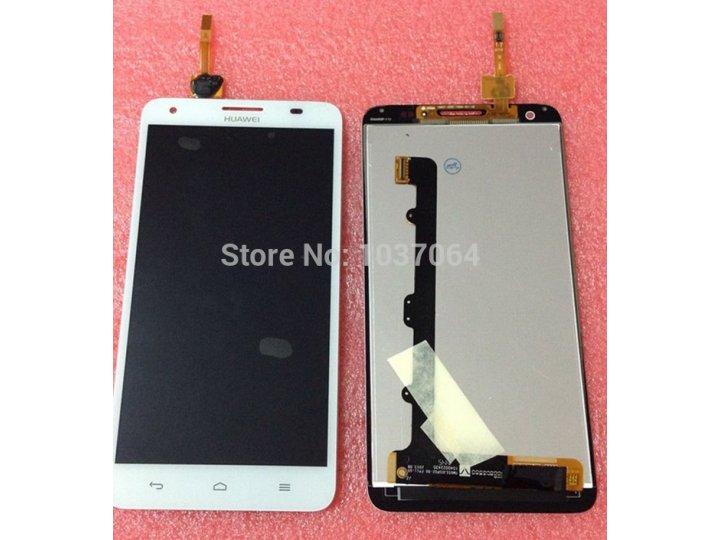Фирменный LCD-ЖК-сенсорный дисплей-экран-стекло с тачскрином на телефон Huawei Honor 3X белый + гарантия..