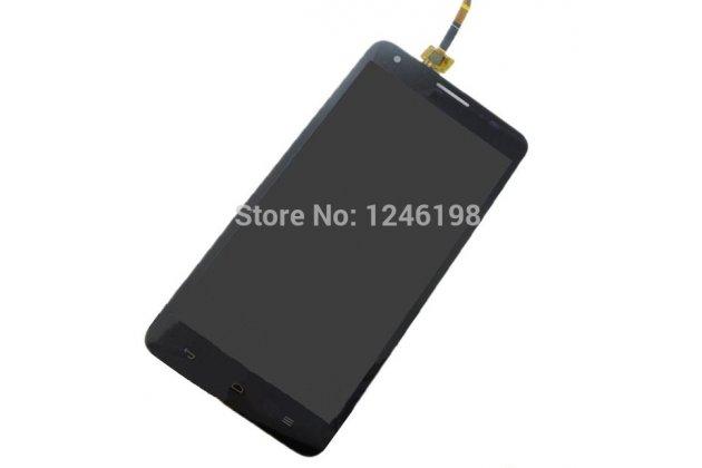 Фирменный LCD-ЖК-сенсорный дисплей-экран-стекло с тачскрином на телефон Huawei Honor 3X черный + гарантия