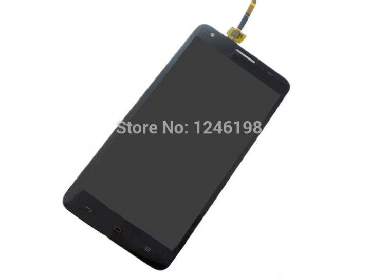 Фирменный LCD-ЖК-сенсорный дисплей-экран-стекло с тачскрином на телефон Huawei Honor 3X черный + гарантия..