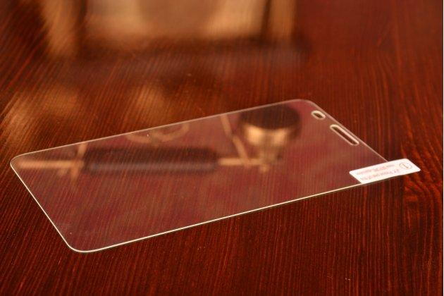 Фирменное защитное закалённое противоударное стекло премиум-класса из качественного японского материала с олеофобным покрытием для Huawei Honor 3X