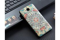 """Фирменная роскошная задняя панель-чехол-накладка из мягкого силикона с объемным 3D изображением  на Huawei Honor 4C Pro (TIT-L01) 5.0 с безумно красивым рисунком  """"Тематика Эклектические узоры"""""""