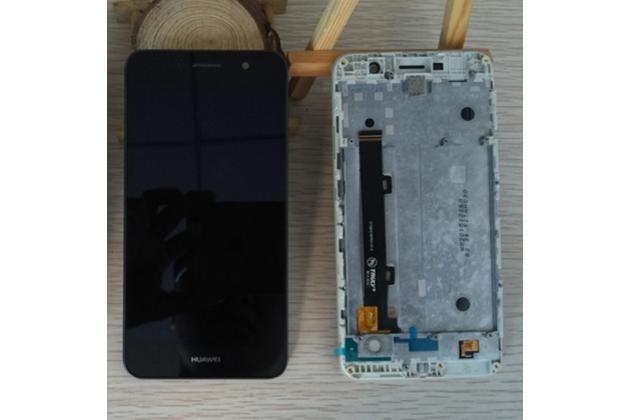 """Фирменный LCD-ЖК-сенсорный дисплей-экран-стекло с тачскрином на телефон Huawei Honor 4C Pro (TIT-L01) 5.0"""" черный"""