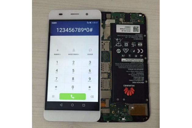 """Фирменный LCD-ЖК-сенсорный дисплей-экран-стекло с тачскрином на телефон Huawei Honor 4C Pro (TIT-L01) 5.0"""" белый"""