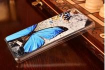 """Фирменная необычная уникальная пластиковая задняя панель-чехол-накладка для Huawei Honor 4c """"тематика Бабочка"""""""