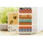 Фирменная роскошная задняя панель-чехол-накладка с безумно красивым расписным эклектичным узором на Huawei Hon..