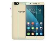 Фирменная оригинальная защитная пленка для телефона Huawei Honor 4X глянцевая..